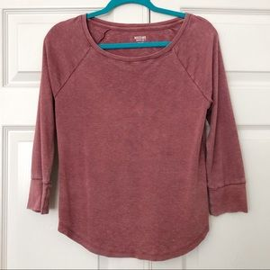 Pink/Faded Red Top
